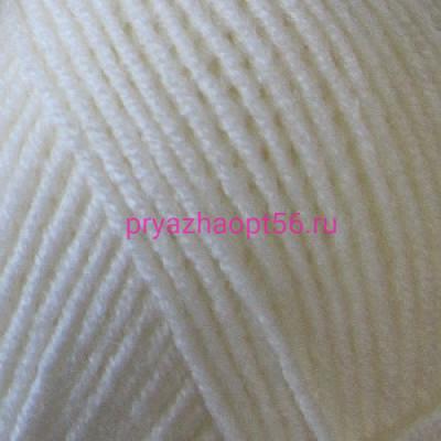 Alize LANAGOLD FINE 62 молочный