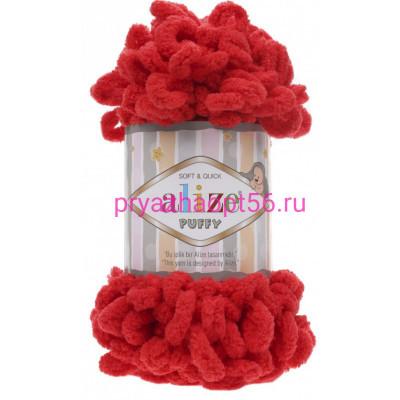 Alize PUFFY 56 красный