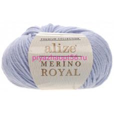 Alize MERINO ROYAL 480 светло-голубой