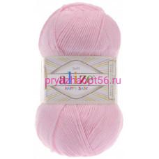Alize HAPPY BABY 185 светло-розовый