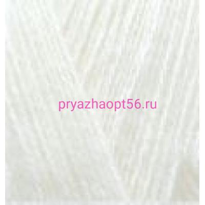 Alize ANGORA GOLD 62 св.молочный