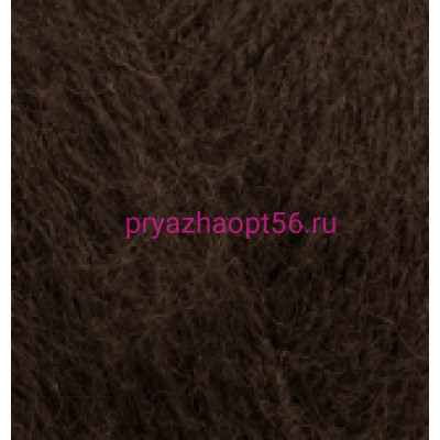 Alize ANGORA REAL 40 201 коричневый