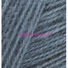 Alize ANGORA REAL 40 381 серый джинс