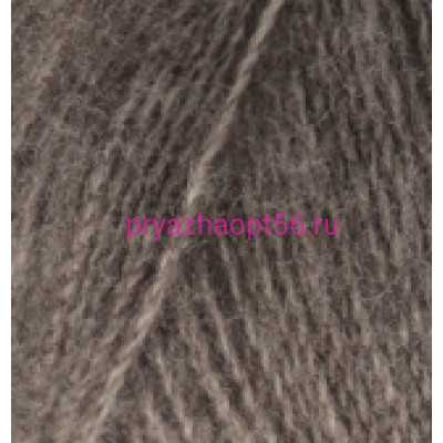 Alize ANGORA REAL 40 553 коричневый меланж
