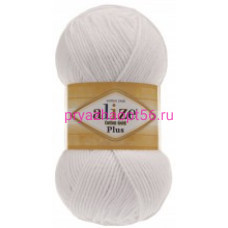 Alize COTTON GOLD PLUS 55 белый