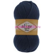 Alize COTTON GOLD PLUS 58 темно-синий