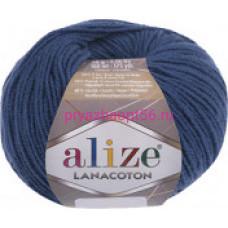Alize LANACOTON 279 темный джинс меланж