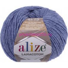 Alize LANACOTON 374 голубой меланж