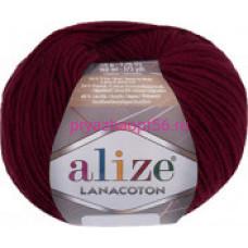Alize LANACOTON 390 вишня