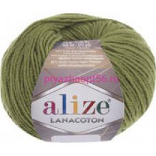 Alize LANACOTON 485 зеленый