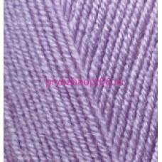 Alize LANAGOLD FINE 166 лиловый