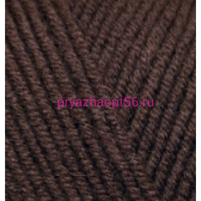 Alize LANAGOLD 26 коричневый