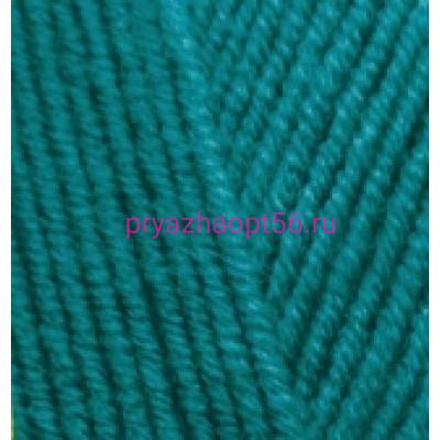 Alize LANAGOLD 640 павлиновая зелень