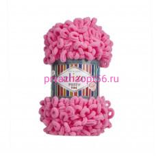 Alize PUFFY FINE 121 ярко розовый
