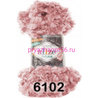 Alize PUFFY FUR (6102) нежно-розовый