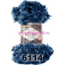 Alize PUFFY FUR (6114) синий