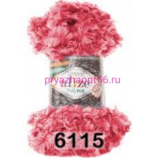 Alize PUFFY FUR (6115) ярко-розовый