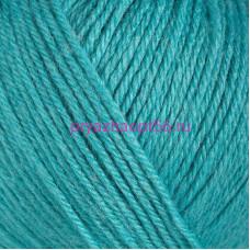 GAZZAL Baby Wool 832 зеленая бирюза