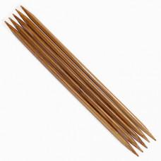 Спицы носочные Деревянные 20 см (2,0 мм )