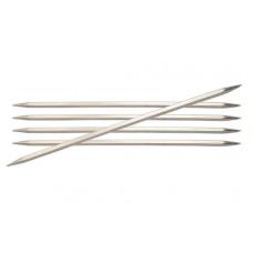 Спицы носочные металлические 20 см (2,0 мм)