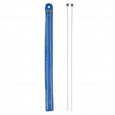 Спицы прямые металлические 35 см (2,0 мм)