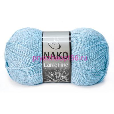 Nako LAME FINE 11476 голубой