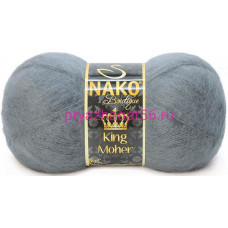 Nako KING MOHER 4192 темно-серый