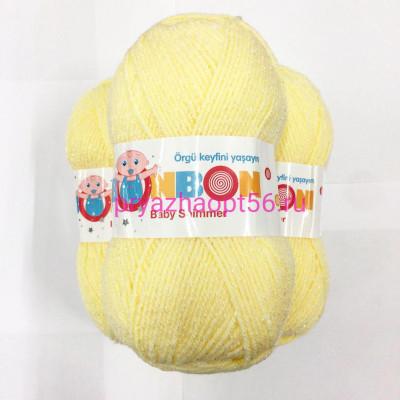 Nako BONBON BEBY SHIMMER BS2 (98905) св.желтый
