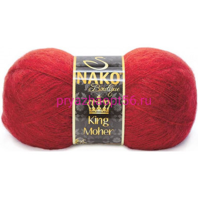 Nako KING MOHER 11279 бордо