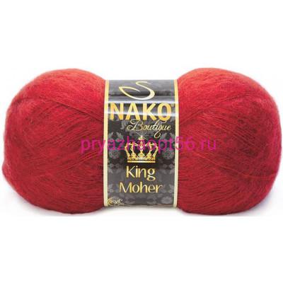 Nako KING MOHER 1175 т.красный