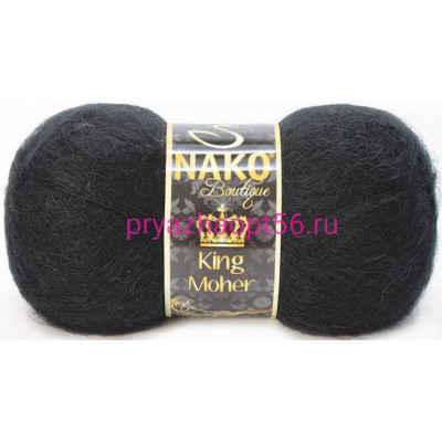 Nako KING MOHER 217 черный