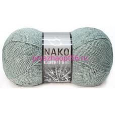 Nako LAME FINE 10937 серо-зеленый