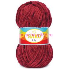 Nako LILY 1050 т.красный