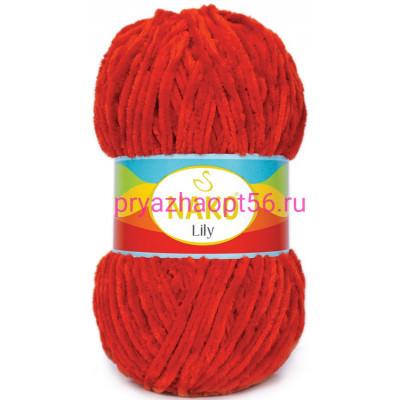 Nako LILY 452 красный