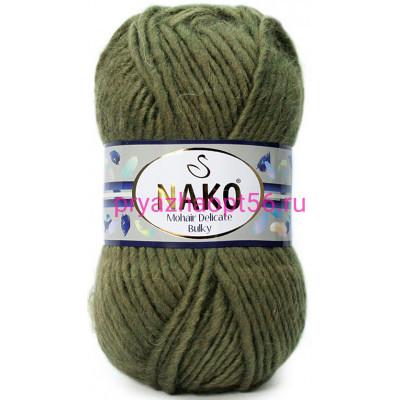 Nako MOHAIR DELICATE BULKY 4234 хаки
