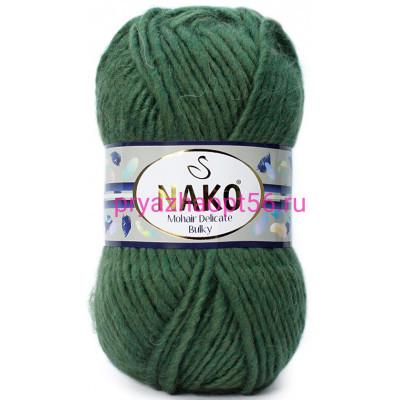 Nako MOHAIR DELICATE BULKY 10698 зеленый