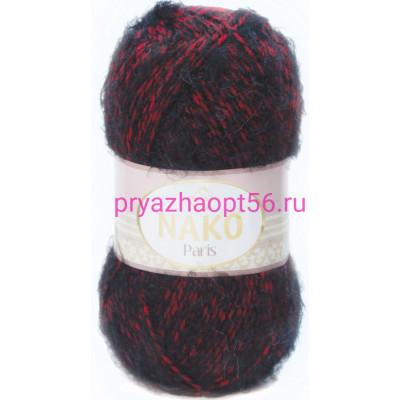 Nako PARIS 21306 красно-серый мулине