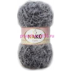 Nako PARIS 21305 серо-черный мулине