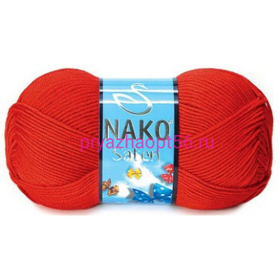 Nako SATEN 207 красный