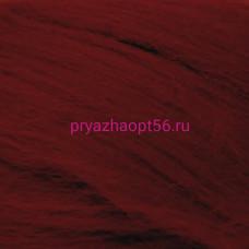Шерсть для валяния ПТонк 07-бордо (Пехорка)