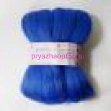 Шерсть для валяния ПТонк 100-Корол. синий (Пехорка)