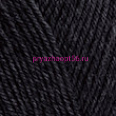 Nako PURE SOCK 217 ЧЕРНЫЙ