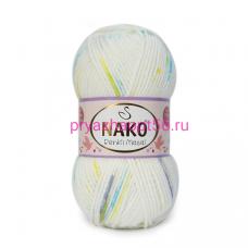 Nako MASAL RENKLI 32094 белый-желтый-салат-бирюза