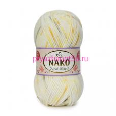 Nako MASAL RENKLI  32100 белый-желтый-оранжевый-серый