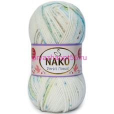 Nako MASAL RENKLI 32104 белый-бирюзовый-беж