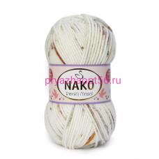Nako MASAL RENKLI 32106 белый-серый-коричневый