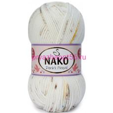 Nako MASAL RENKLI  32107 белый-голубой-желтый-коричневый
