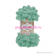 Alize PUFFY 490 светло-зеленая бирюза