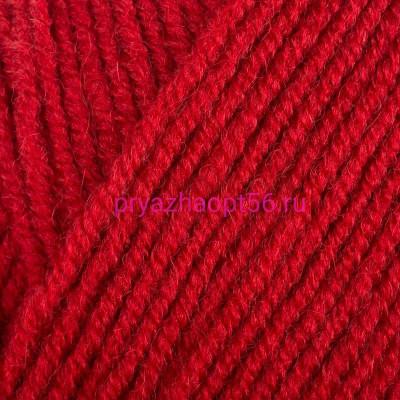 Alize LANAGOLD FINE 56 красный