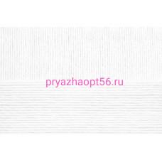 Хлопок натуральный 425м 01-Белый (Пехорка)